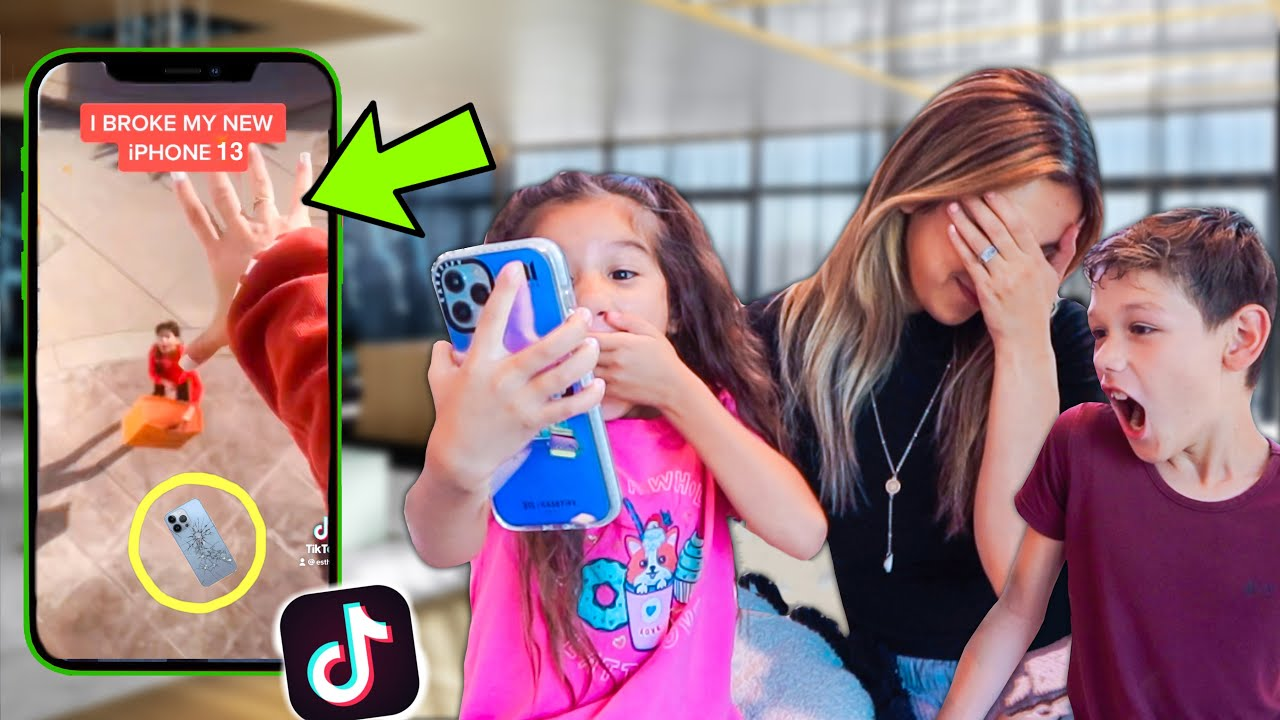 Download 6 YEAR OLD REACTS TO MOM'S TIK TOKS!! **EXPOSED** | Familia Diamond
