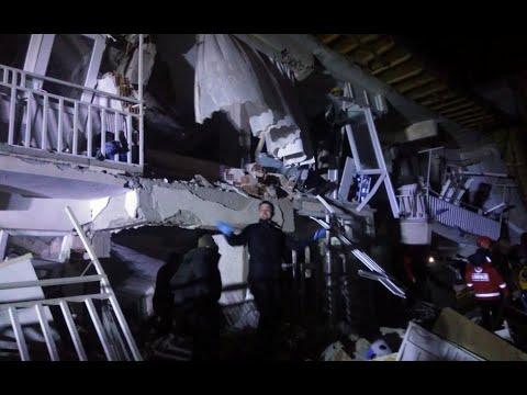 زلزال بقوة 6.9 درجات يضرب شرقي تركيا  - نشر قبل 3 ساعة