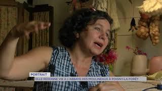 """Portrait : Cécile Dachary pour """"Aux artistes le Patrimoine"""""""