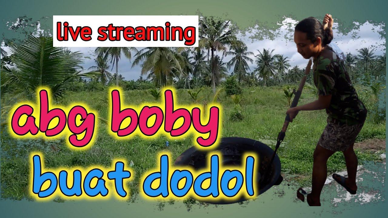 Abang Boby Membuat Dodol