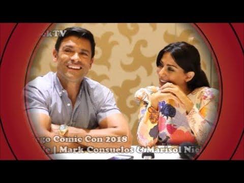 SDCC 2018  Riverdale  Mark Consuelos & Marisol Nichols