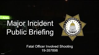 Officer Involved Shooting 10-06-2019