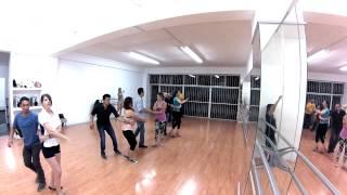 DANZ/CORP - Marc Anthony , Que precio tiene el cielo - Salsa Lineal Principiantes