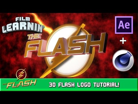 3D Flash Logo After Effects and Cinema 4D Tutorial! | Film Learnin