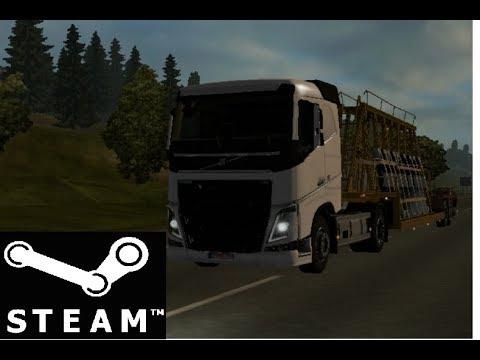 Стоит ли покупать Euro Truck Simulator 2 в Steam!? Первый запуск