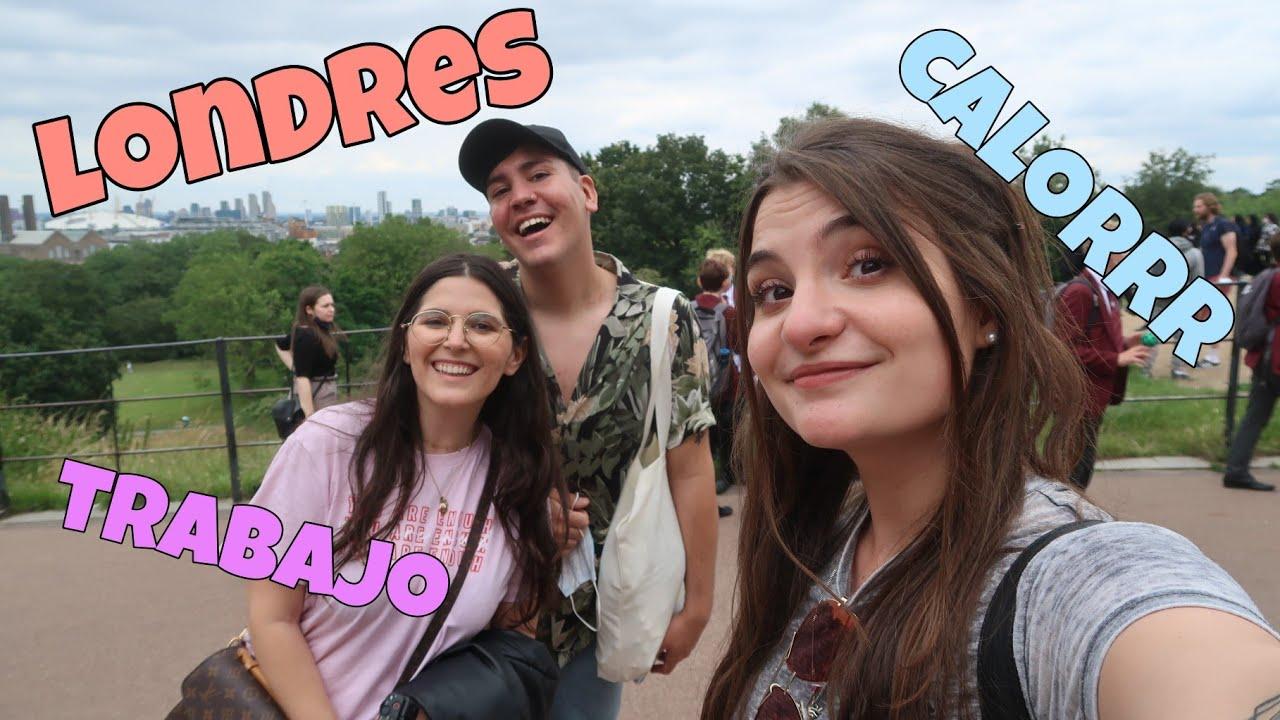 Mucho trabajo y escapada a Londres 😊- Juli Sparkling Vlogs