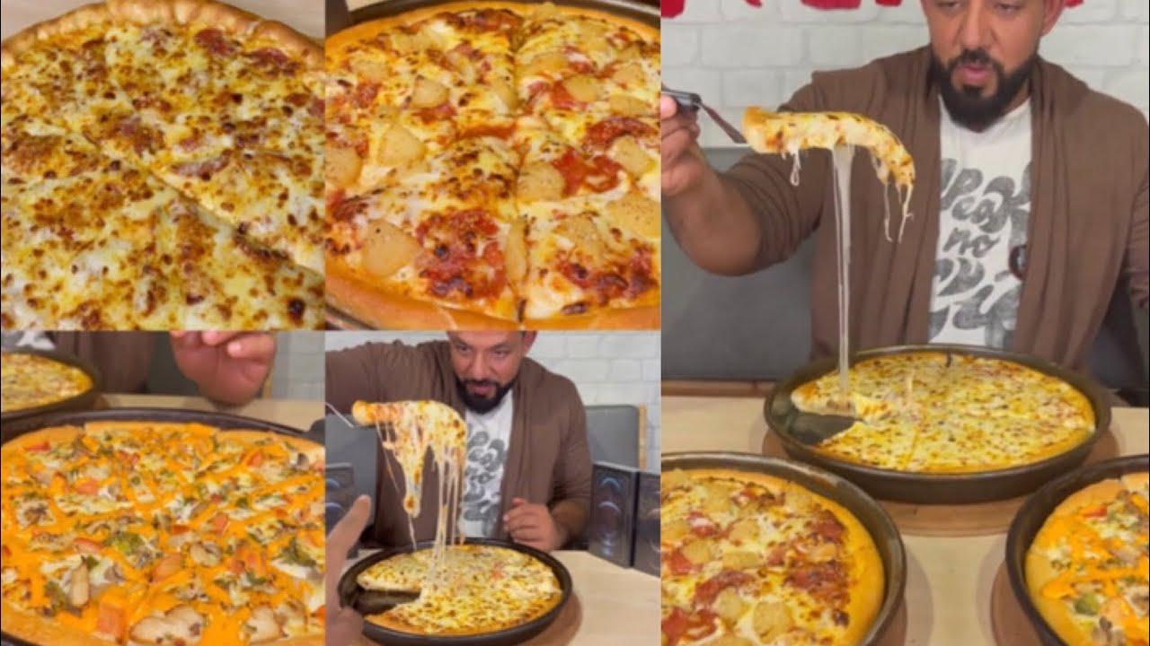 تحدي سحس في رمضان لأكل ٥ بيتزا من بيتزاهت 🍕| S7S PIZZAHUT CHALLENGE 🍕🤤