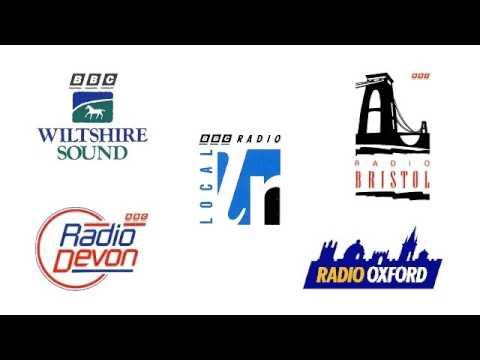 BBC Radios Bristol, Oxford, Devon and Wiltshire Sound jingles 1992-93
