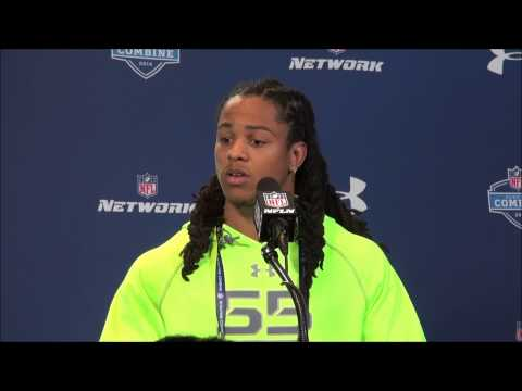 TCU CB Jason Verrett's NFL Combine media session