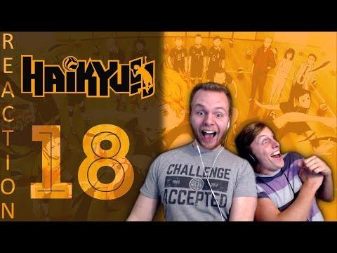 SOS Bros React - Haikyuu Season 1 Episode 18 - The Iron Wall Falls!!