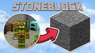 StoneBlock #01 - Мир из камня | Выживание в Маинкрафт с модами