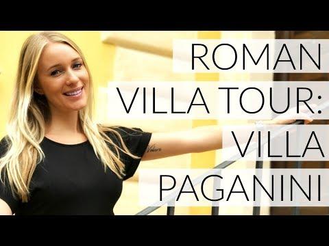 TRAVEL DIARY: ROMAN VILLA TOUR (VILLA PAGANINI)
