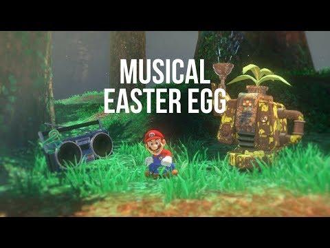 Super Mario Odyssey's pause menu has a musical Easter egg!