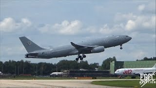 Netherlands Air Force / NATO A330-200MRTT Take Off at Manchester Airport