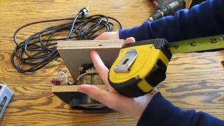 How to reuse a Vacuum cleaner motor assembly.