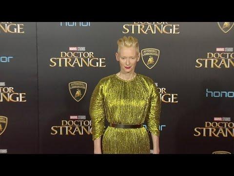 "Tilda Swinton ""Doctor Strange"" World Premiere Red Carpet"