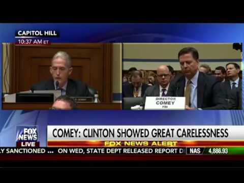 James Comey  No basis to Conclude Clinton Lied to FBI