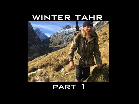 Josh James and Dan the Man winter Tahr hunting in New Zealand Part 1 of 2