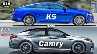 2021 Toyota Camry vs Kia K5 Op…