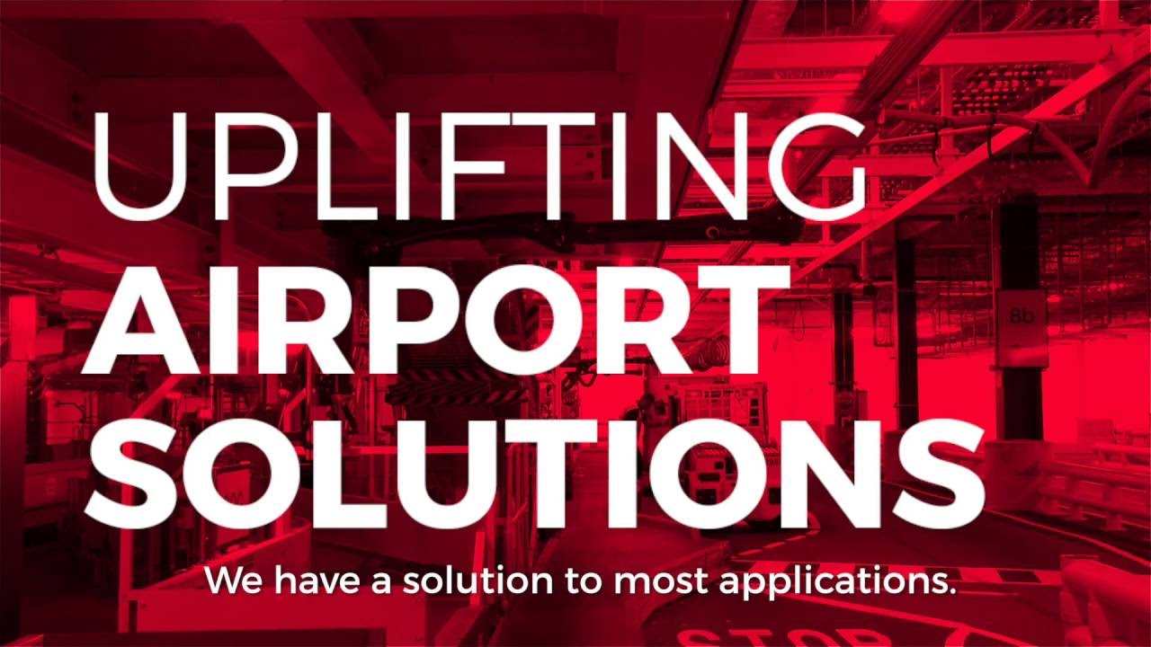 Lifting Solutions for Airports - Vacuum Baggage Handling Systems