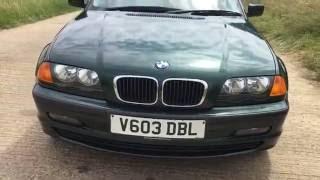 1999 BMW 318 інструкція 318 CI спортивний двигун 1,9 45к миль 3-серії огляд відео