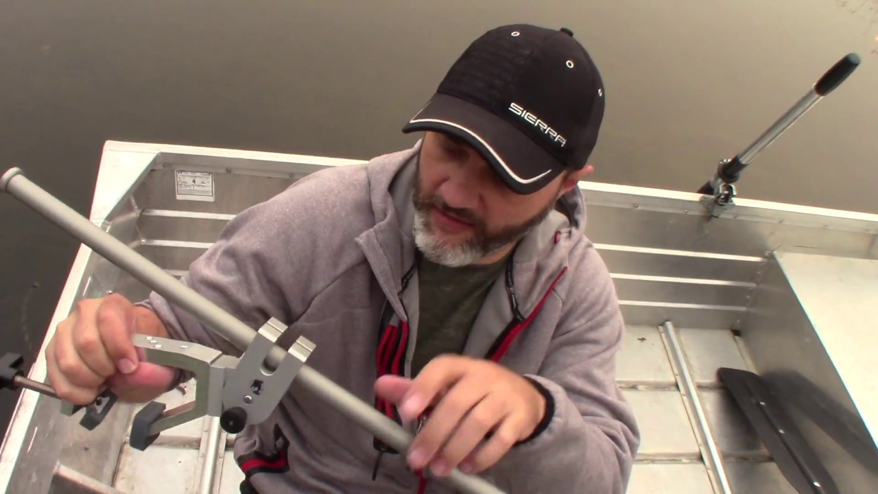 Pole Arm Fish Finder Transducer Mount