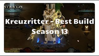 Diablo 3 - Kreuzritter: Der beste Build für Season 13 (Der Richter, Patch 2.6.1)