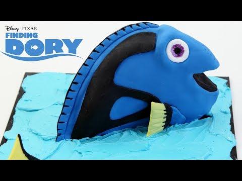 Disney FINDING DORY Cake - CAKE STYLE Decorating