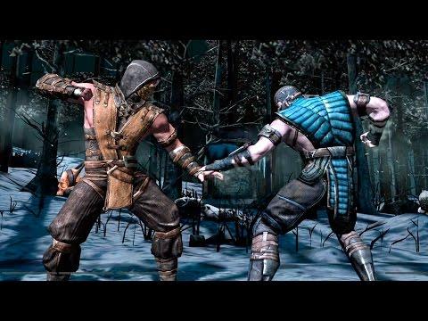 Скачать игру Mortal Kombat X Мортал Комбат 10 через