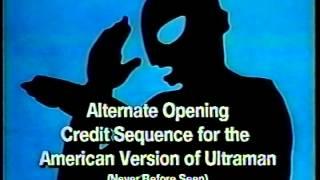 Ultra Man - American Version Opening
