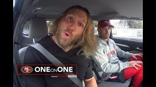 1-on-1: Carpool Karaoke with the 49ers Specialists