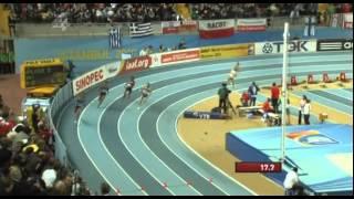 400м Финал Женщины - Чемпионат Мира в помещении Стамбул