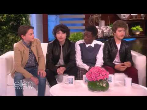 Stranger Things Cast on The Ellen Show