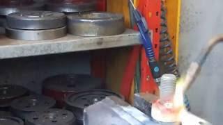 démo pour braser 2 pièces acier