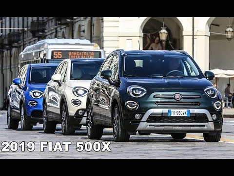 2019 Fiat 500x Colors White Blue Green Youtube