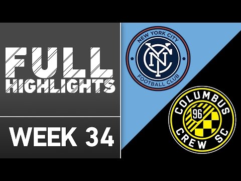 HIGHLIGHTS | New York City FC vs. Columbus Crew SC