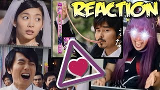VIDEO REACTION Sakeru Gum さけるグミ Long Long Man ♫ Commercial 1 - 11