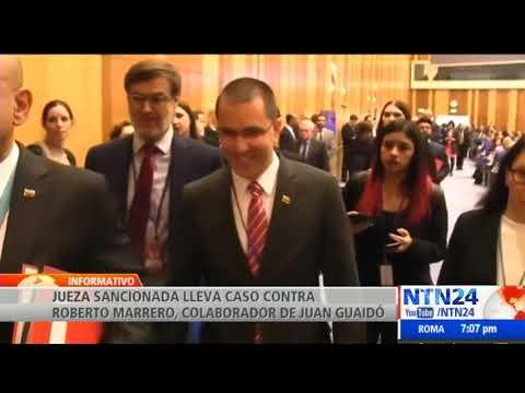 EEUU sanciona al canciller Jorge Arreaza y a la jueza Carol Padilla