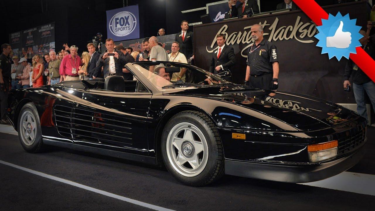 1986 Ferrari Testarossa Straman Convertible: Barrett ...