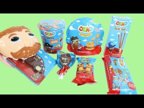 Ozmo Sürprizler Açıyor Play Doh Dişci Doktor Amca Heidi Play-Doh Büyük Diş