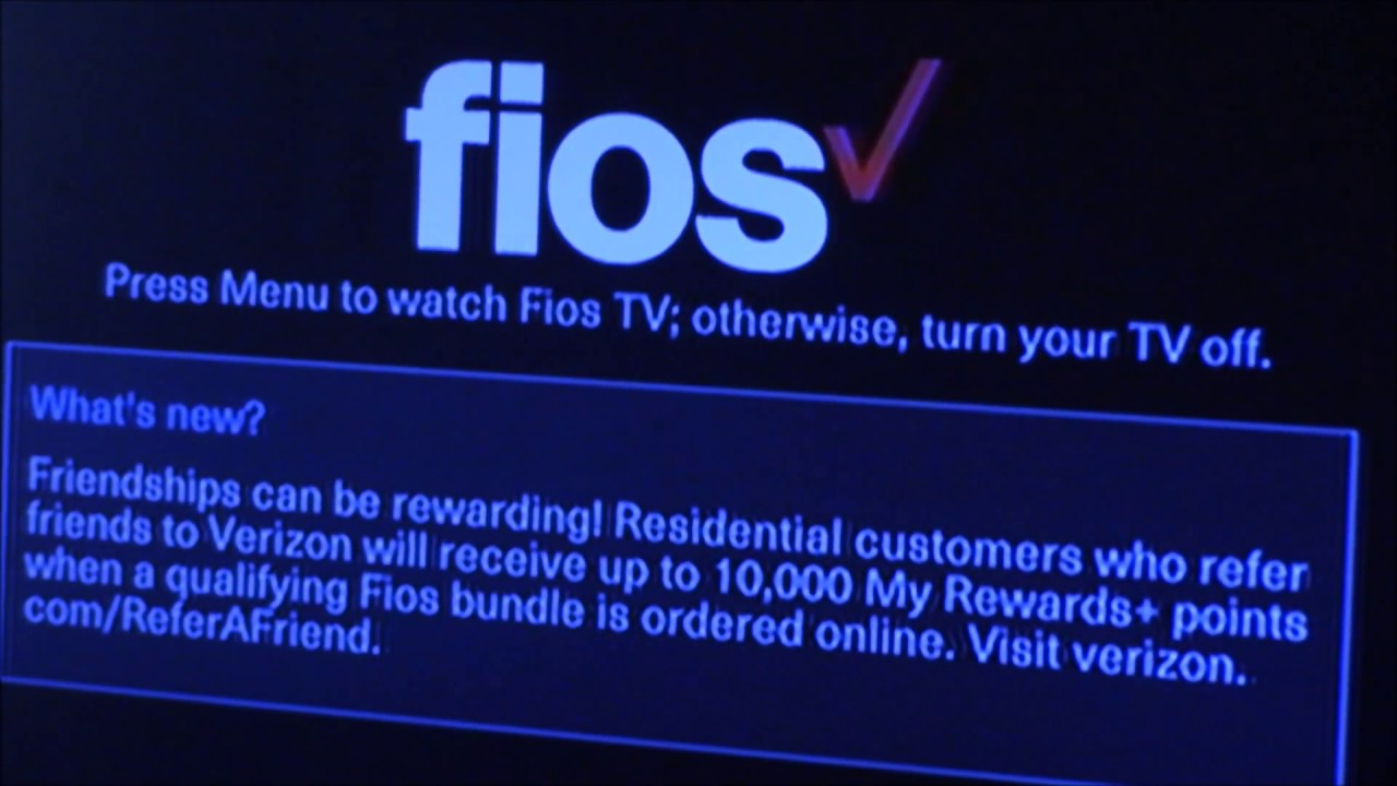 Verizon Fios Overall Service Review