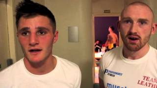 HIGHLY RATED JOSH LEATHER MAINTAINS UNBEAYEN RUN WITH STOPPAGE WIN OVER MICHAEL MOONEY