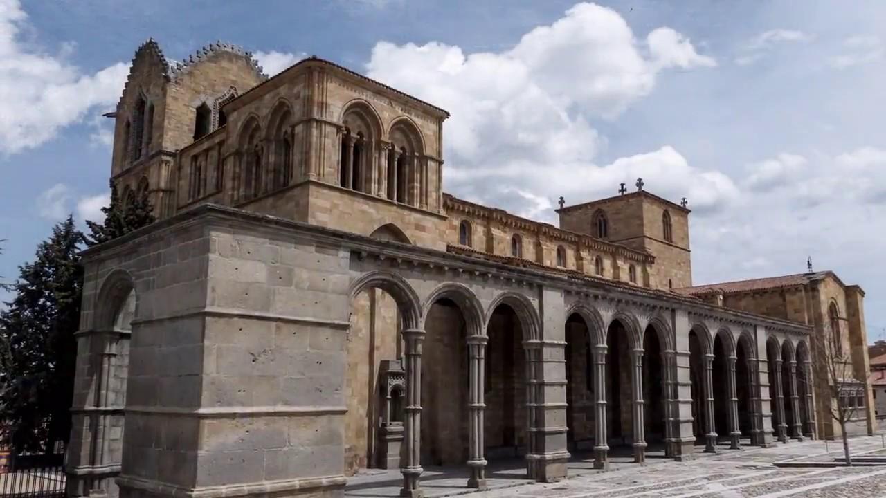 BASÍLICA DE SAN VICENTE (Ávila) - YouTube