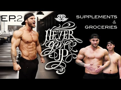 """FAT 2 SHREDDED 3.0 - EP 2 """"Supplements & Grocery shopping"""""""