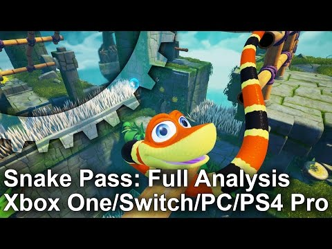 Snake Pass: Complete Tech Analysis + Switch/PC/PS4/Xbox One Comparison