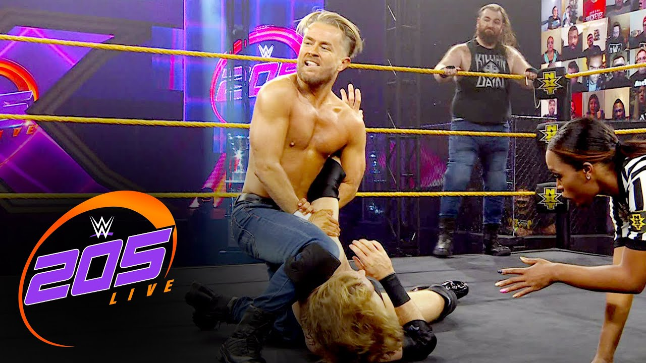 Dain & Maverick vs. Stallion & Grey – Dusty Rhodes Tag Team Classic: 205 Live, Jan. 15, 2021