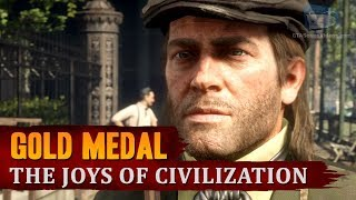 Red Dead Redemption 2 - Mission #43 - The Joys of Civilization [Gold Medal]