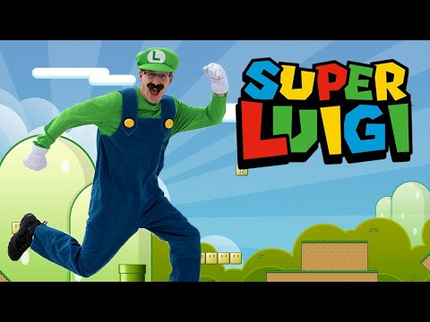 Super Luigi In Real Life - Super Mario Bros