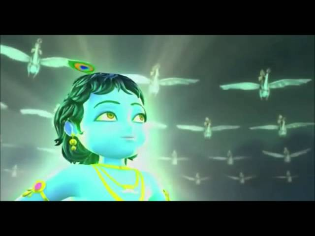 Anu Visualisation Little Krishna