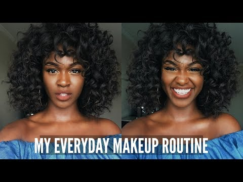Everyday Natural Makeup Routine For Beginners